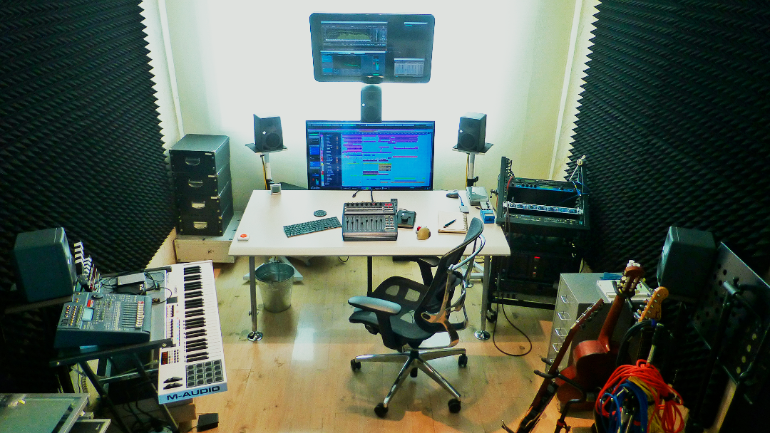 Emil Studio - control room